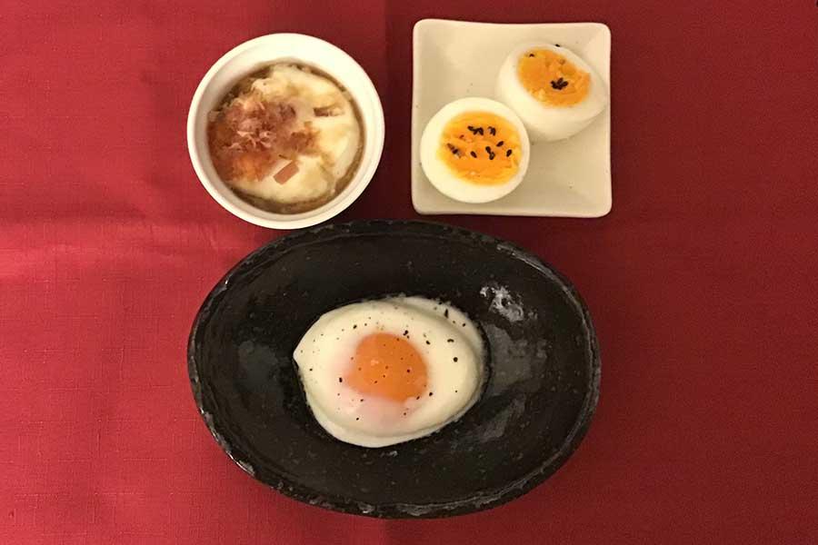 """""""レンチン""""で温泉卵やゆで卵、目玉焼きも作れる【写真:Hint-Pot編集部】"""