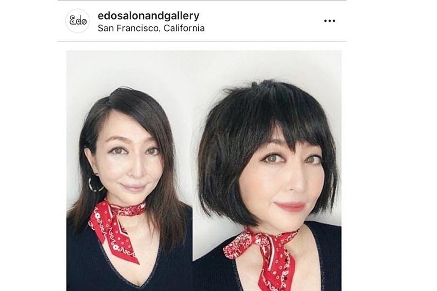 「Edo salon」インスタグラムスクリーンショット。【写真:パツワルド敬子】