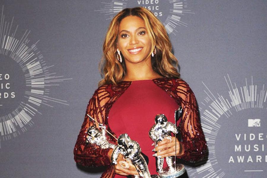 MTV Video Music Awardsに出席したビヨンセ【写真提供:BANG SHOWBIZ】
