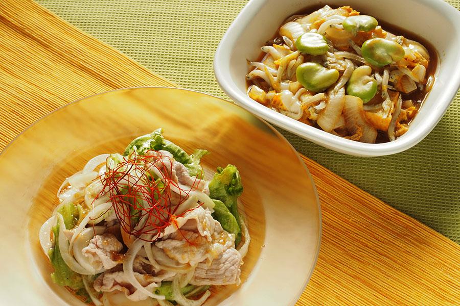 旬の新玉ねぎを使った簡単美味レシピ2品【写真:市川千佐子】