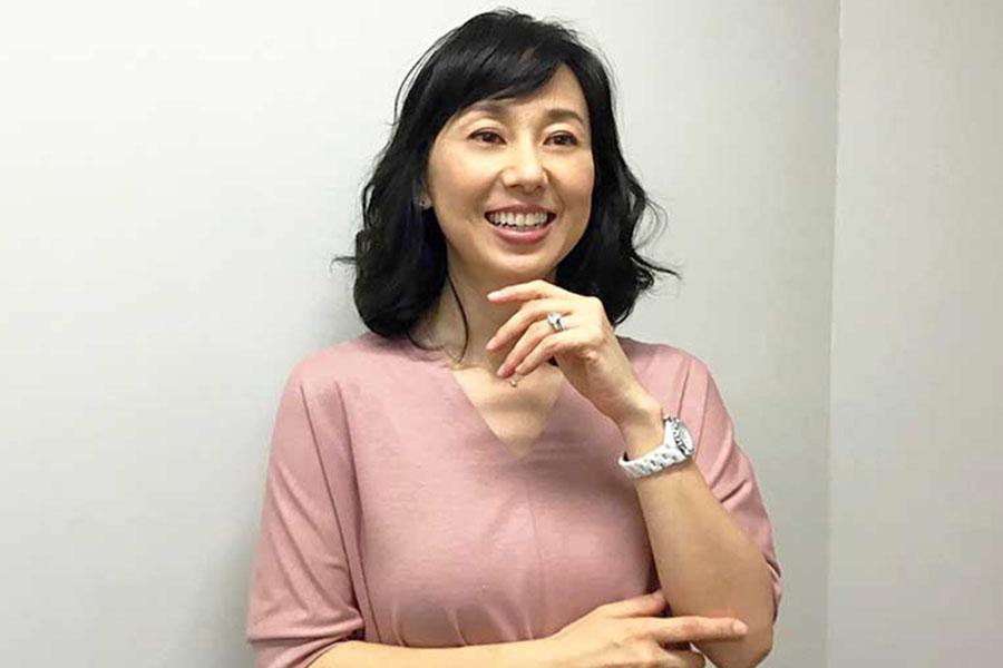 やりたいことがたくさんあると笑顔を見せる東尾理子さん【写真:Hint-Pot編集部】