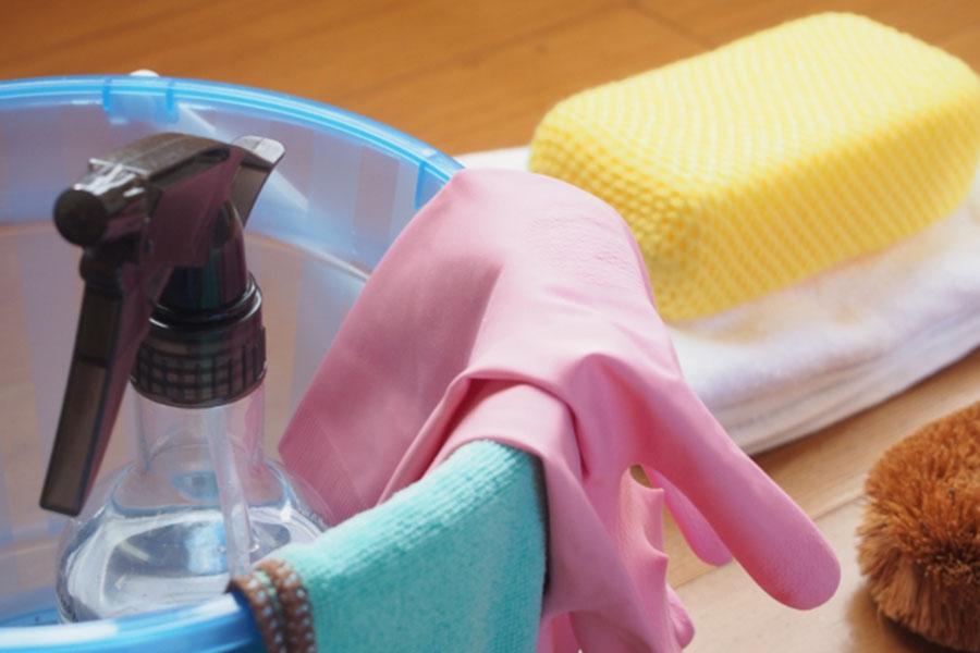 掃除道具を使わなくても普段からの癖づけで水アカを回避(写真はイメージです)【写真:写真AC】