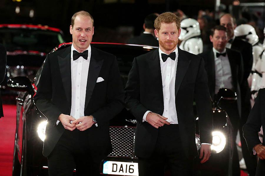 ウィリアム王子とヘンリー王子【写真提供:BANG SHOWBIZ】