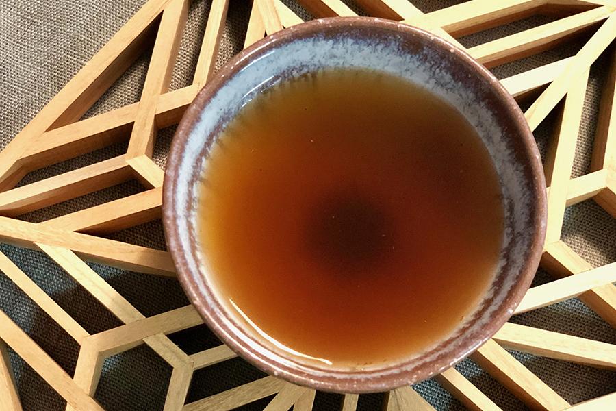 香ばしさが味わえる「はとむぎ黒豆茶」【写真:村上華子】