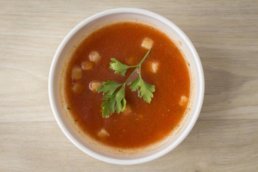 温かいスープ【写真:写真AC】