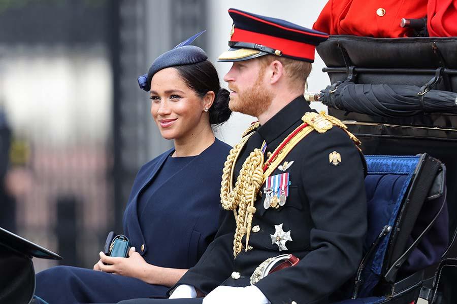 メーガン妃とヘンリー王子【写真:GettyImages】
