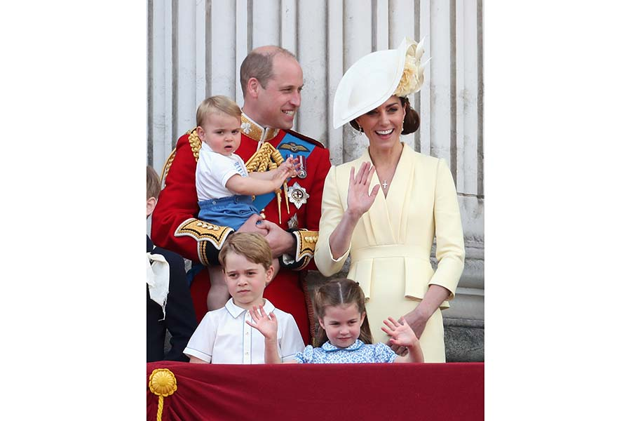 ウイリアム王子とキャサリン妃と3人の子どもたち【写真:Getty Images】