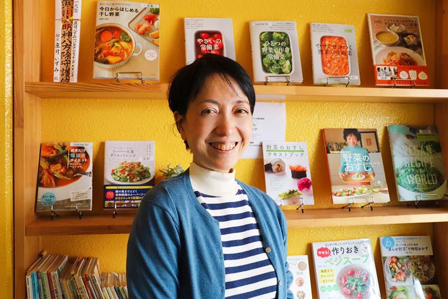 野菜料理家 庄司いずみさん【写真:Hint-Pot編集部】