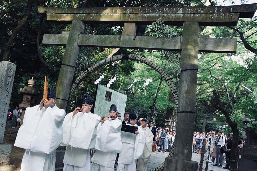 夏越の大祓【写真提供:赤坂氷川神社】