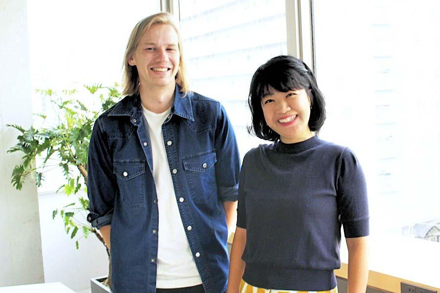 minoriさんと夫のベンヤミンさん【写真:Hint-Pot編集部】