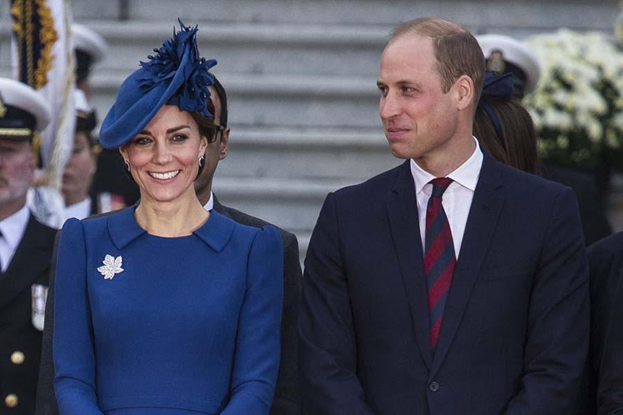 キャサリン妃とウイリアム王子【写真提供:BANG SHOWBIZ】