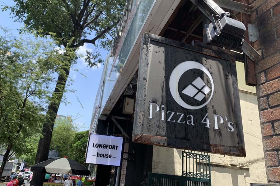 ベトナムで人気のピザレストラン「Pizza 4P's」【写真:Hint-Pot編集部】