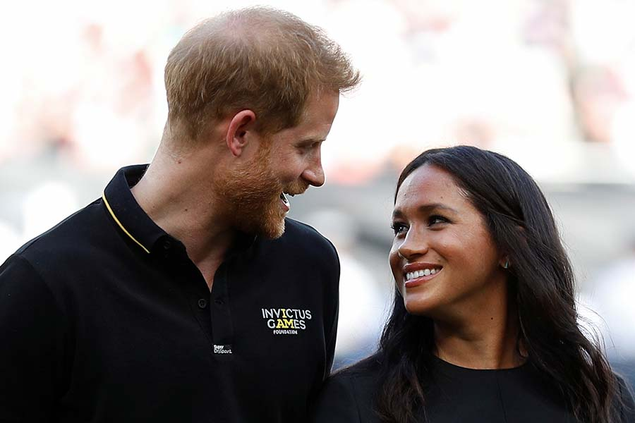 ヘンリー王子とメーガン妃【Getty Images】