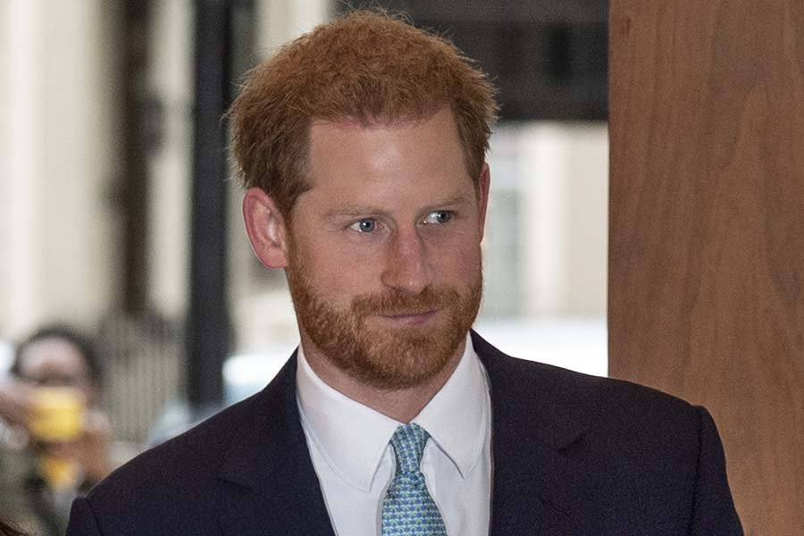ヘンリー王子【写真:Getty Images】