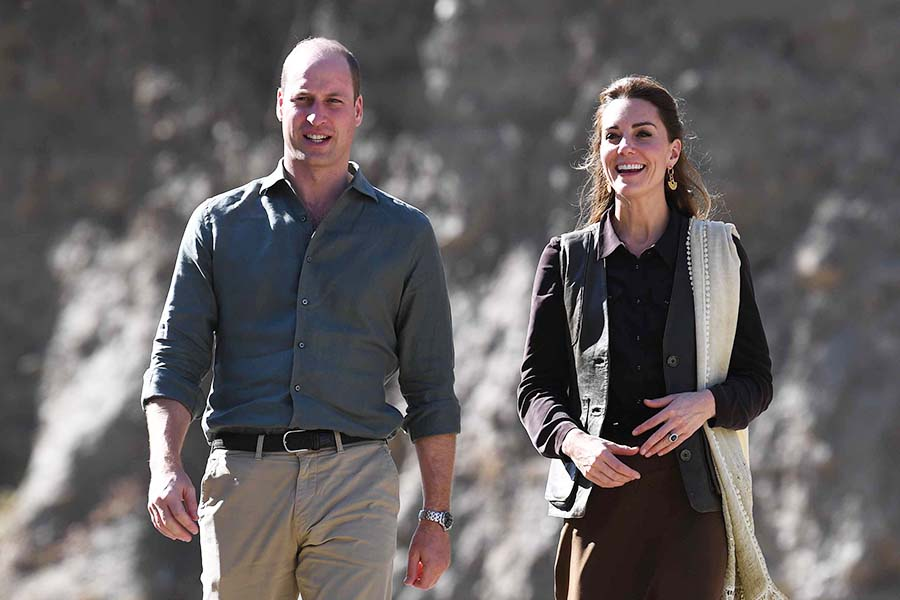 ウイリアム王子とキャサリン妃【写真:Getty Images】