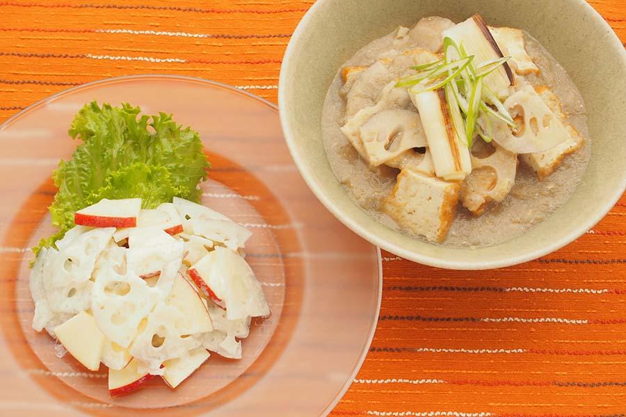簡単に作れておいしいレンコン料理【写真:市川千佐子】
