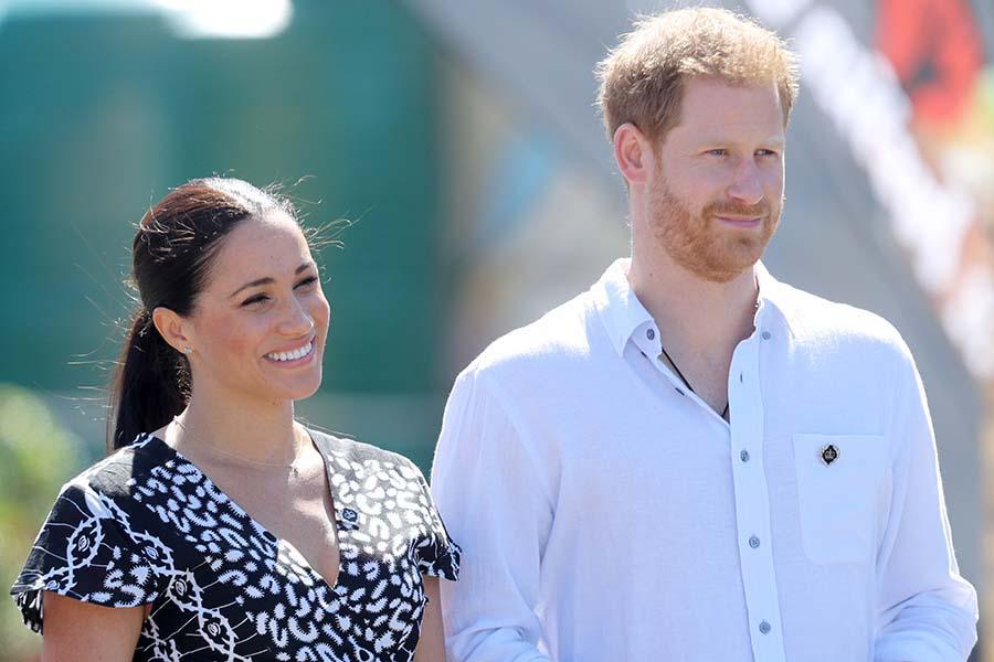 カナダに滞在中のメーガン妃とヘンリー王子【写真:Getty Images】
