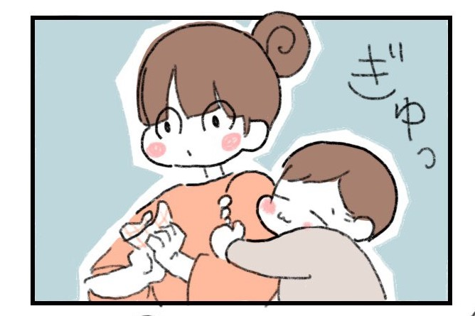 漫画のワンシーン【画像提供:ナナジュー*1y11m育児中(@gol070)さん】