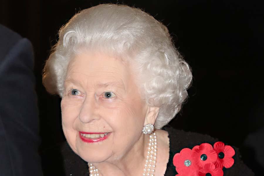 エリザベス女王【写真:Getty Images】