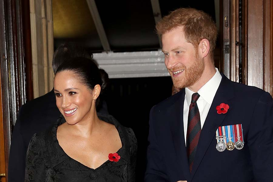 メーガン妃とヘンリー王子【写真:Getty Imges】