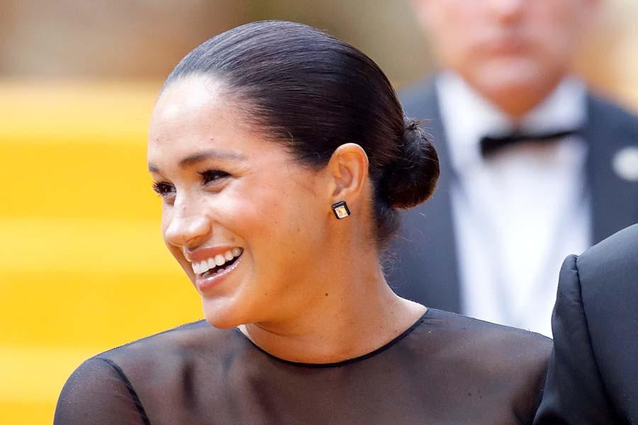 昨年7月「ライオン・キング」のプレミアに訪れたメーガン妃【写真:Getty Images】