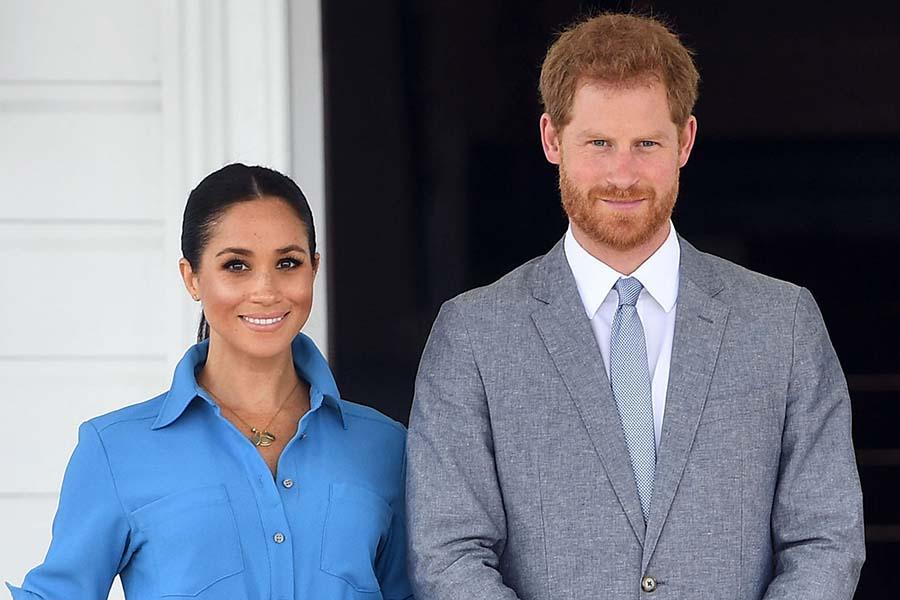 ロサンゼルス移住が報じられたメーガン妃とヘンリー王子【写真:Getty Images】
