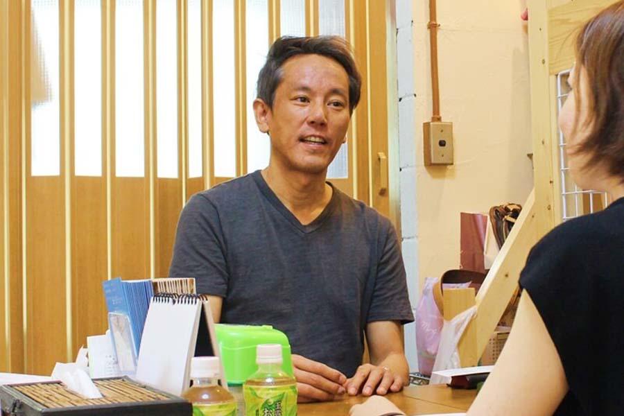 「東京ペットホーム」の代表、渡部帝さん【写真:猫ねこ部】