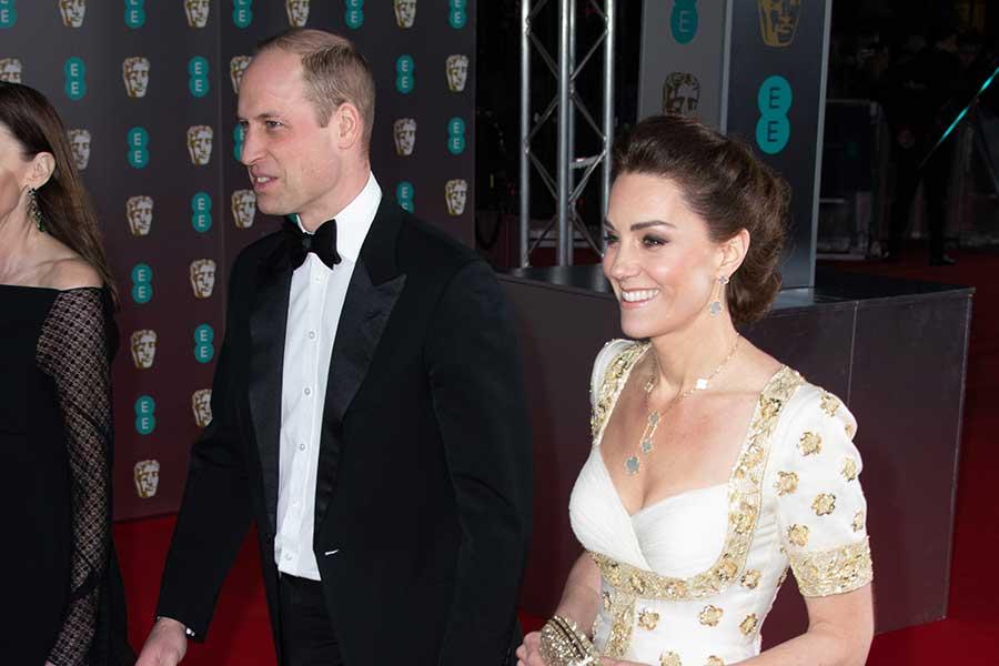 授賞式に出席したウイリアム王子とキャサリン妃【写真:Getty Images】
