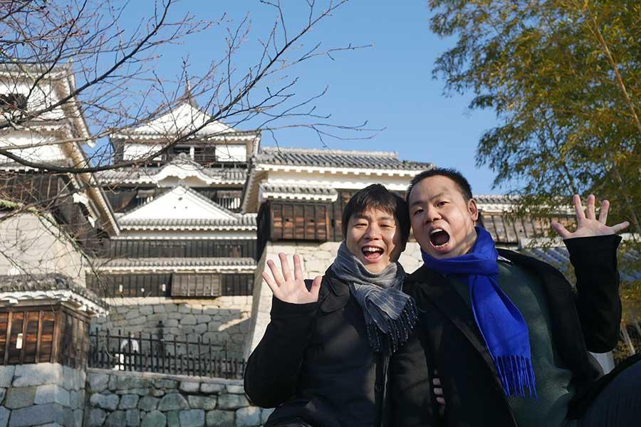 公私ともに大切なパートナーとなっている南さんと吉田さん【写真提供:南和行さん】
