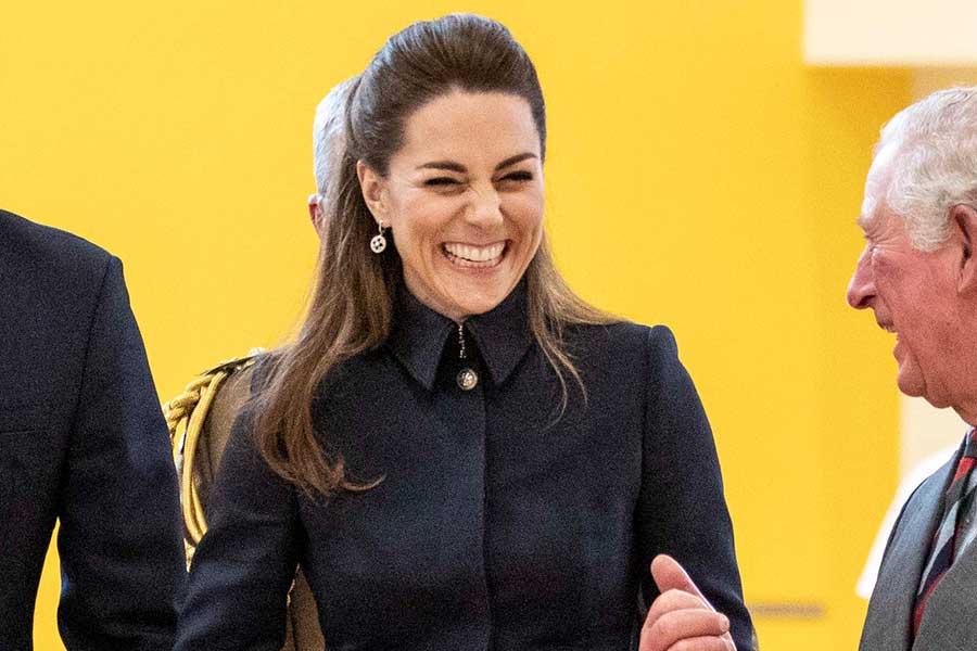 公務に臨んだキャサリン妃【写真:Getty Images】