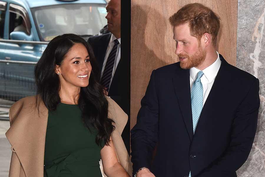 """有名金融企業との""""話し合い""""が報じられたメーガン妃とヘンリー王子【写真:Getty Images】"""