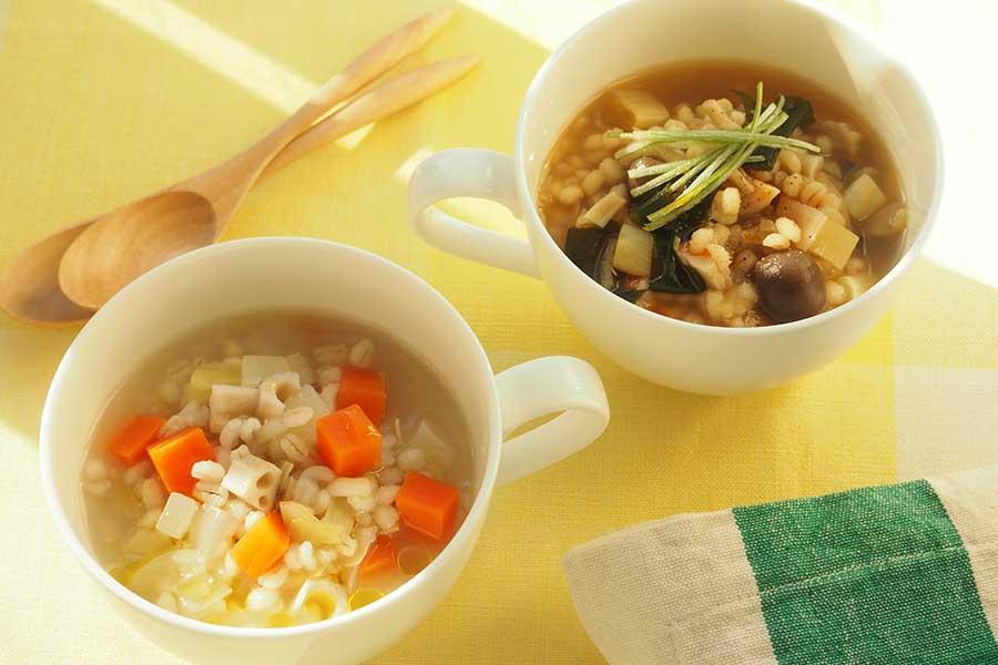 人気の「もち麦」を使ったレシピを紹介【写真:市川千佐子】