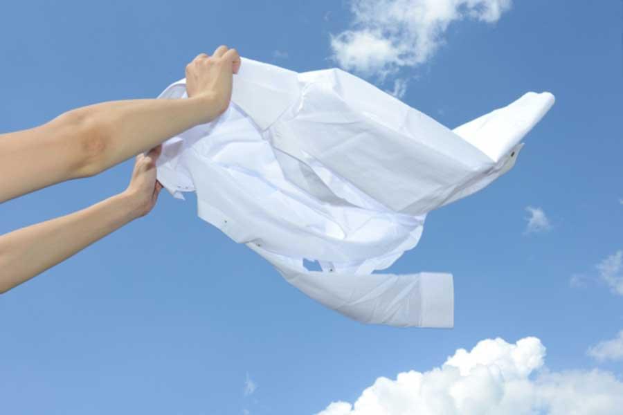 花粉時期の洗濯も快適に(写真はイメージ)【写真:写真AC】