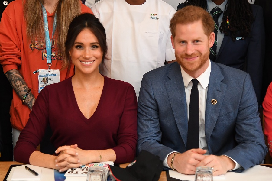 メーガン妃とヘンリー王子【写真:Getty Images】
