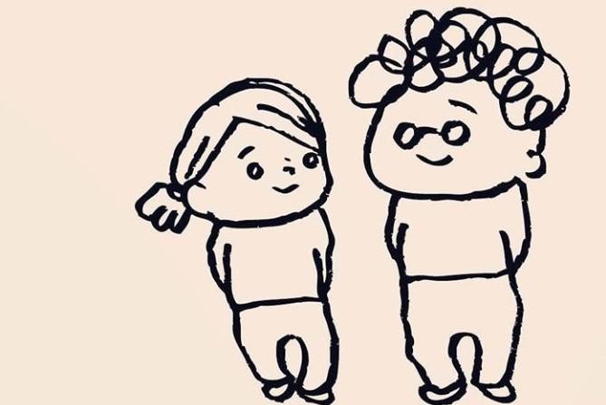漫画のワンシーン【画像提供:kaori (りんごむし)[kaoringomushi]さん】