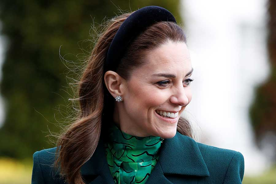 アイルランド訪問時の「色使い」に注目が集まったキャサリン妃【写真:Getty Images】