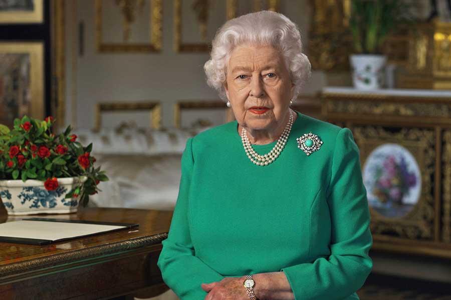 スピーチを行うエリザベス女王【写真:Getty Images】