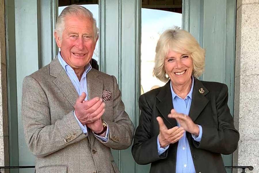 チャールズ皇太子とカミラ夫人【写真:AP】