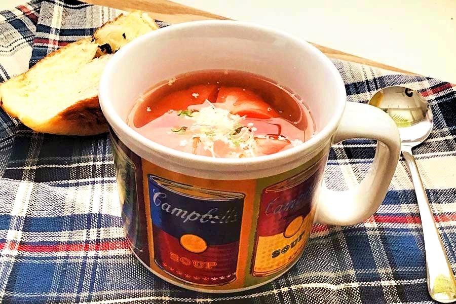 トマト丸ごとスープ【写真:Hint-Pot編集部】