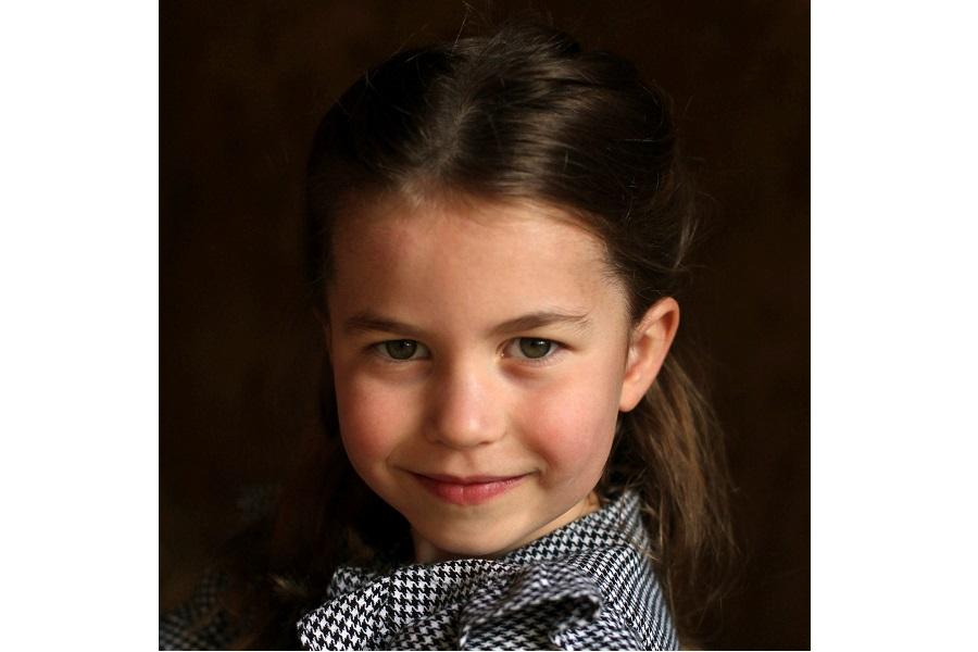 5歳の誕生日を迎えたシャーロット王女【写真:AP】