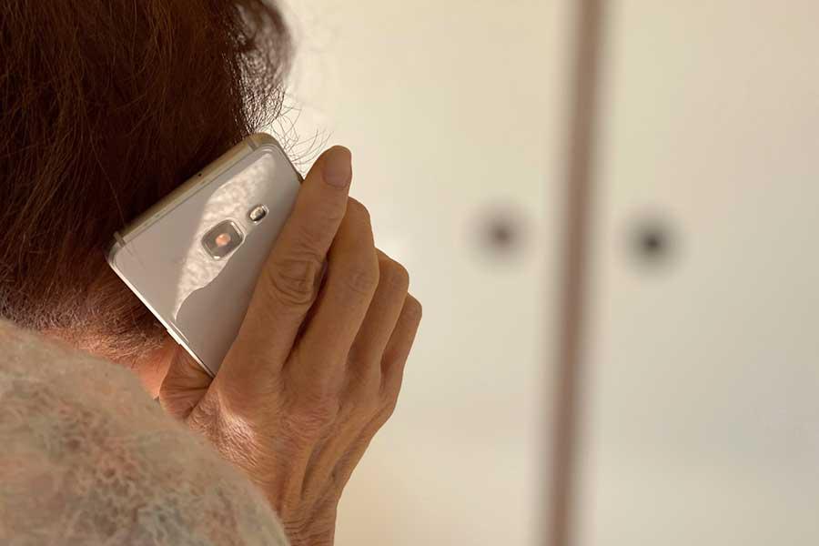 後を絶たない「特殊詐欺」 高齢者への電話には要注意(写真はイメージ)【写真:写真AC】