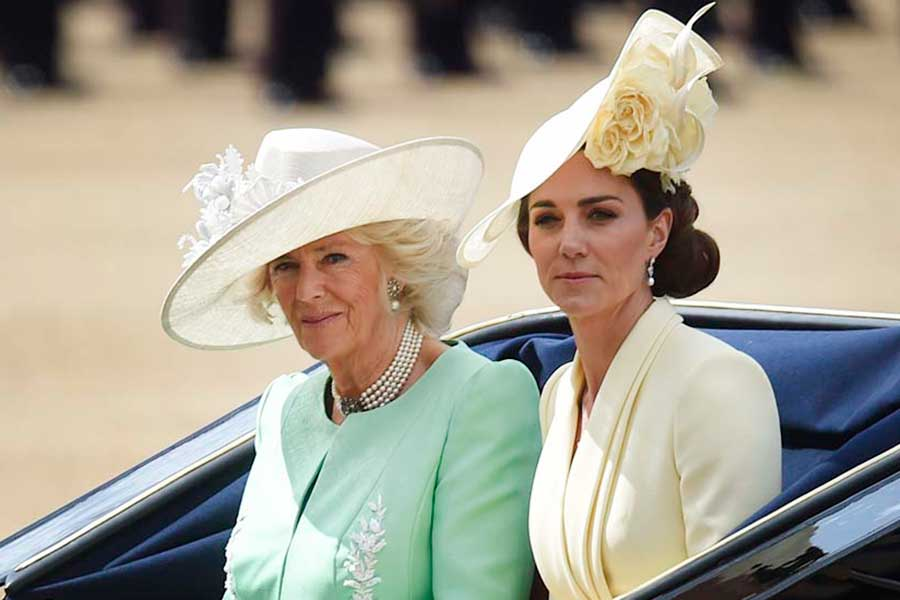 カミラ夫人とキャサリン妃【写真:Getty Images】