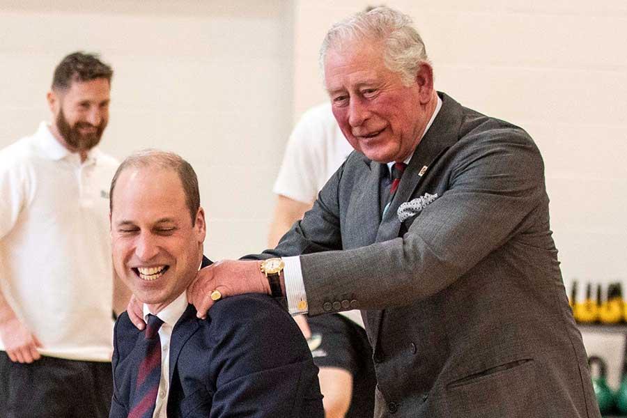 ウイリアム王子とチャールズ皇太子【写真:Getty Images】