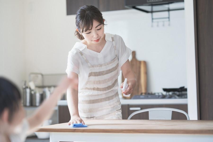 「お掃除偏差値」の高いママさんはどんな工夫を?(写真はイメージ)【写真:写真AC】