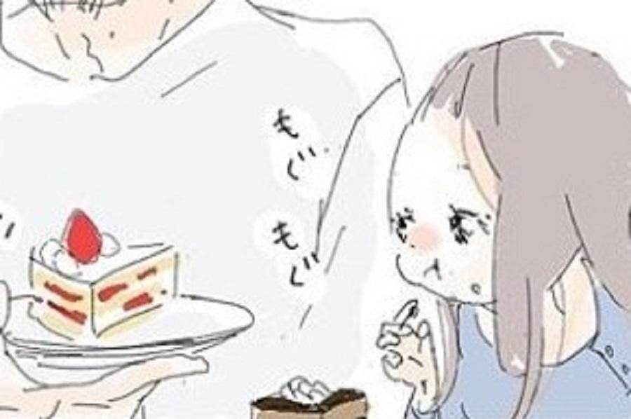漫画のワンシーン【画像提供:なかのいと(nakano_ito)さん】