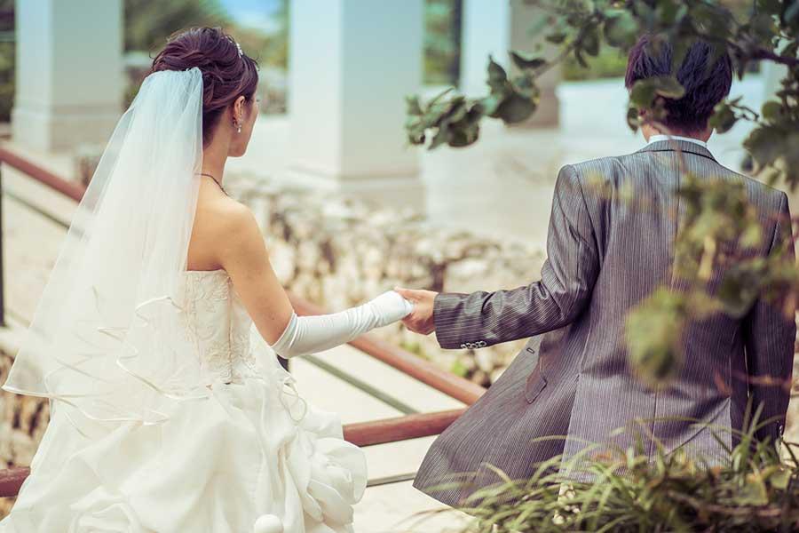 コロナ禍は結婚式にも多大な影響を与えている(写真はイメージ)【写真:写真AC】