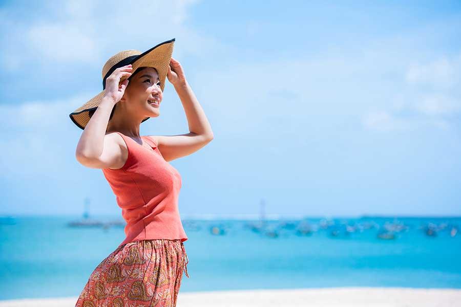 紫外線が気になる夏、肌トラブルに注意(写真はイメージ)【写真:写真AC】