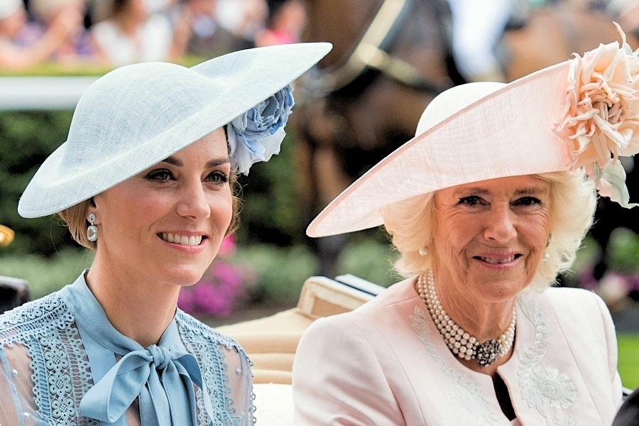 キャサリン妃とカミラ夫人【写真:Getty Images】