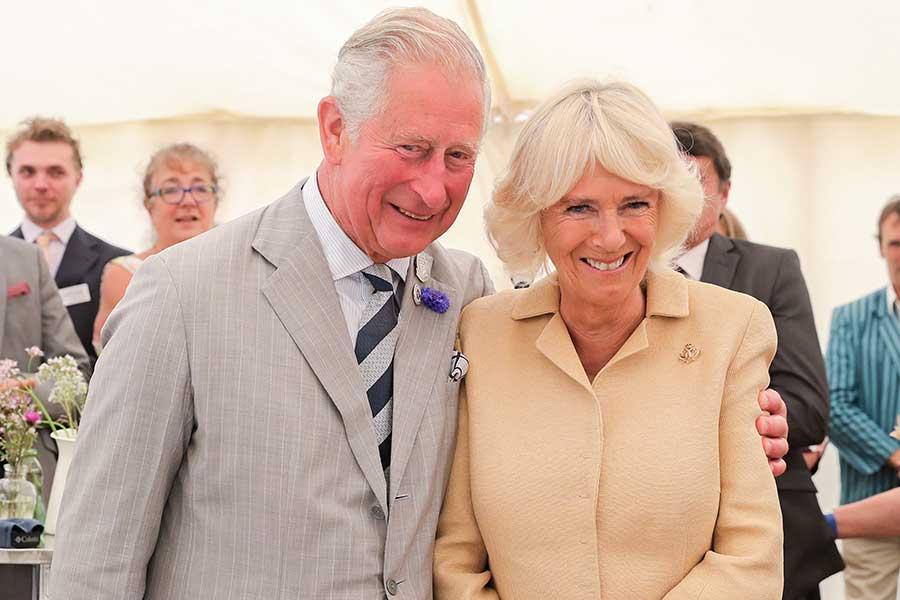 チャールズ皇太子とカミラ夫人【写真:Getty Images】