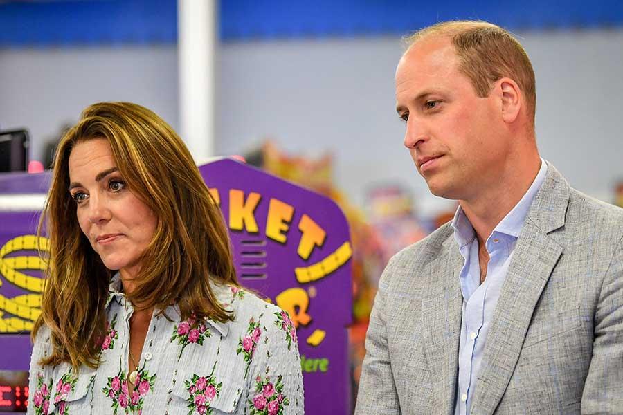 キャサリン妃とウイリアム王子【写真:Getty Images】